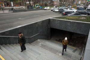 Киев подземный переход